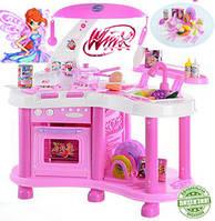 Кухня игровая детская Винкс со звуковыми и световыми эффектами. Чарівні кулінари
