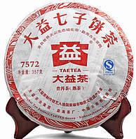 Чай Пуэр Мэнхай 7572 2011года