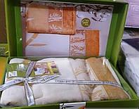Набор бамбуковых велюровых полотенец
