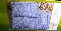 Набор бамбуковых красивых велюровых полотенец