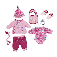 Одежда для куклы Готовимся к зиме 43 см Baby Born Zapf Creation822326