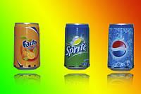 Колонка портативная Mp3 Pepsi-Fanta-Sprite