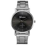 Женские наручные часы Geneva Silver Black