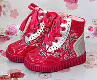Детские зимние ботиночки для девочек.