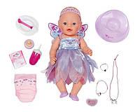 Фирменная Кукла Беби Борн Фея, интерактивный Пупс Baby Born Феечка 43 см ,Zapf Creation Оригинал!
