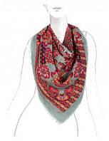 Красивый платок женский 110 на 110 см в 5ти цветах BL41-2358 Eleganzza