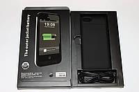 Чехол-аккумулятор Power Bank для iphone 5 и 6 Black