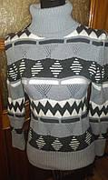 Теплый женский свитер Анита, 42-48р