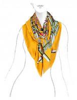 Красивый платок женский 140 на 140 см в 3х цветах LSZ33-525