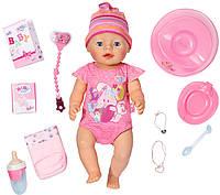 Фирменная Кукла Беби Борн Малышка, интерактивный Пупс Baby Born 43 см ,Zapf Creation Оригинал!