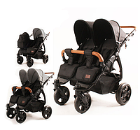Прогулочная коляска для двойни Kees Twin K2 Plus