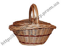 Комплект корзин из лозы, фото 1