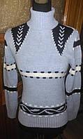 Теплый женский свитер Лиля, 40-46р