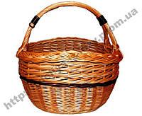 Плетеная корзина из лозы., фото 1