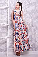 Платье 1603 ветка роза