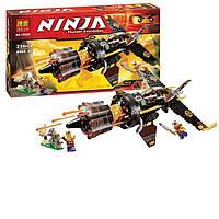 """Конструктор Bela Ninja 10322 (аналог Lego Ninjago 70747) """"Скорострельный истребитель Коула"""" - Нинзяго"""