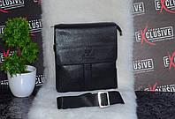 Черная сумка для мужчин.