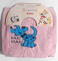 Махровые детские колготки (под памперс) 80-86 см