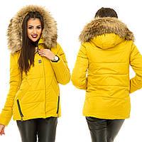 Ж871 Куртка зимняя на холлофайбере