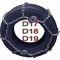 Цепи противоскольжения автомобильные D17,18,19.