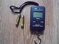 Весы портативные электронные кантер 40кг+батарейки