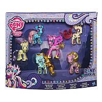 """Набор игрушек 6в1 Мой маленький пони """"Дружба и магия"""" - My Little Pony, Friendship&Magic, Hasbro"""