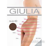 Колготки темно-коричневые 40 Den кoрректирующие Slim Giulia Сappuccino 2