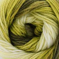 Пряжа зимняя для ручного вязания Vizell Рейнбов, 03