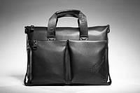 Стильная мужская кожаная* сумка портфель POLO для нетбука/ультрабука!!