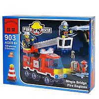 Конструктор Brick 903 Пожарная тревога, 130 деталей