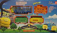 Железная дорога Чагингтон с большим поездом