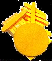 Спонжи вискозные прессованные (12 шт)
