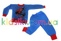 Детская пижама для мальчика Человек паук флисовая