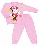 Пижама для девочки с начёсом р.80-122см
