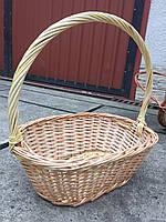 Подарочная овальная корзинка, фото 1