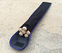 Шампура с деревянной ручкой 6шт +чехол