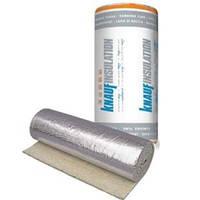 Рулонный утеплитель Knauf Insulation LMF AluR 10 м.кв. (20*1000*1000мм) фольгированный