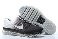 Кроссовки Nike Air max 2017 Черные-белые (Оригинал). кроссовки найк мужские