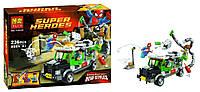 Конструктор 10239 Bela Супер Герои Человек-Паук против Доктора Осьминога, ограбление грузовика YNA /05-8