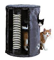 "Домик-башня для кошки ""Dino"" с когтеточкой, ø41 х 58см."