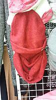 Женский головной убор с шарфиком комплект широкий ассортимент