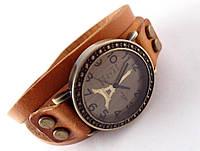Часы Vikec  с Эйфелевой башней, кожа (в наличии)