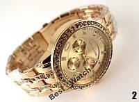 Ценовой хит!!!   Часы Michael Kors  gold  (копия)