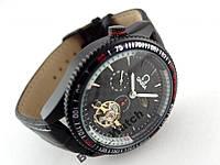 Часы механические  OMEGA chronometer black (копия)