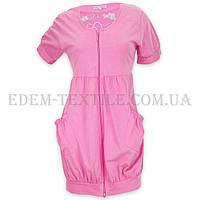 Халат женский трикотажный  Jackies Fashion Hello Kitti 3867 розовый