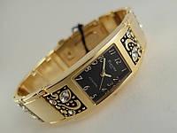 Изысканные часы  -  ПЛАНЕТА gold с кристаллами