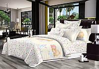 """Постельное белье из сатина в кроватку """"Цветные сны"""""""