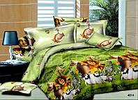 Постельное белье в кроватку Мадагаскар
