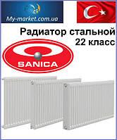 Радиаторы стальные SANICA 500/22/400