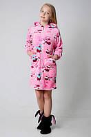 Теплый халат для девочки диснейленд  2051